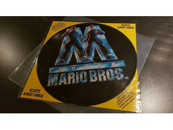"Roxette Super Mario Bros - Almost Unreal 12"" vinyl / 1993"