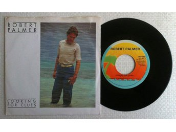 "ROBERT PALMER 'Looking For Clues' 1980 Swedish 7"" - Bröndby - ROBERT PALMER 'Looking For Clues' 1980 Swedish 7"" - Bröndby"
