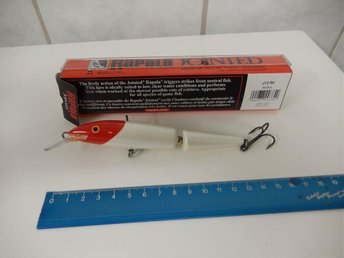 RAPALA JOINTED J 13 RH RED HEAD