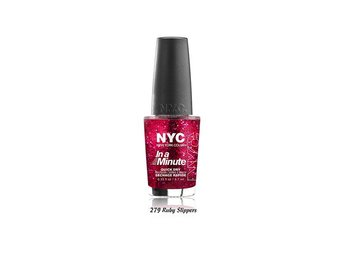 NYC In a Minute Quick Dry Nail Polish - 279 Ruby Slippers - Växjö - NYC In a Minute Quick Dry Nail Polish - 279 Ruby Slippers - Växjö