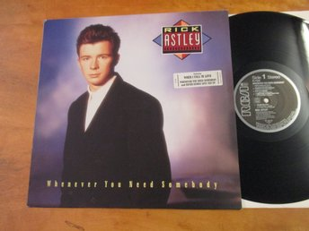 "Rick Astley ""Whenever You Need Somebody"""