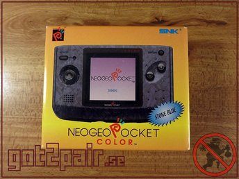 Neo Geo Pocket konsol Stone Blue - KOMPLETT - Göteborg - Neo Geo Pocket konsol Stone Blue - KOMPLETT - Göteborg