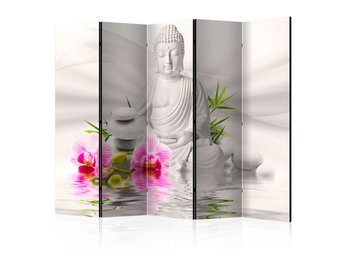Rumsavdelare - Buddha and Orchids II Room Dividers 225x172