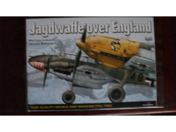 TOPCOLOURS 7 JAGDWAFFE OVER ENGLAND PART 1 + DECALS & MASKING FOIL KAGERO