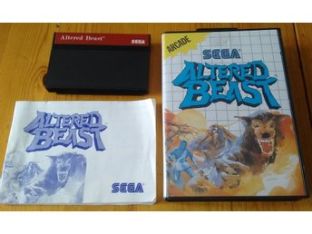 Sega Master System Altered Beast Komplett
