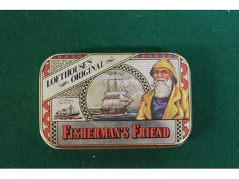 Fisherman´s friends ask Lofthouse original, några jättesmå bucklor