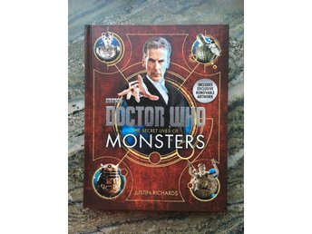 Doctor Who bok - The Secret Lives of Monsters