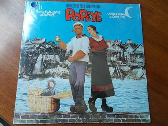 POPEYE LP Soundtrack USA 1980 SEALED Robin Williams Shelley Duvall Harry Nilsson