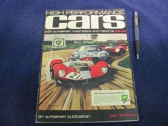 High Performance Cars 1965-1966