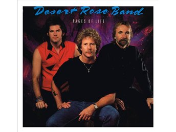 DESERT ROSE BAND - Pages of Life - LP (1990)