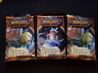 3st World of Warcraft TCG Kort - Heroes of Azeroth Booster Pack