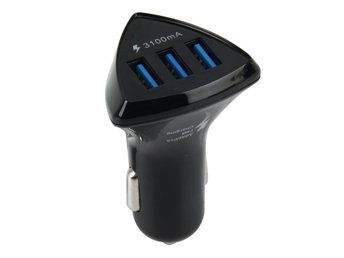 Intelligent Billaddare Quickcharger 3 USB Portar