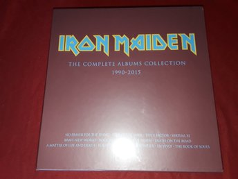 Iron Maiden - Complete Albums Collection Box med 2 Lps sealed
