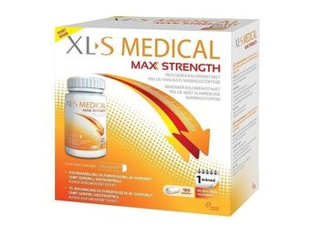 120 caps XL-S Medical Max Strength