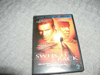 "DVD Dennis Quaid -Danny Glover "" Switch Back """
