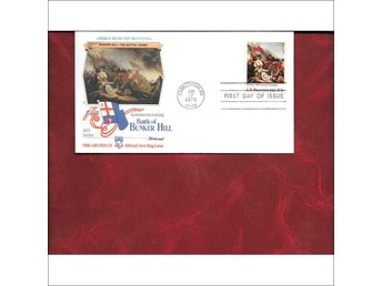 FDC-BATTLE OF BUNKER HILL( 1775), AMERICAN REVOLUTION BICENNIAL