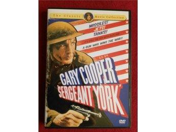 SERGEANT YORK av Howard Hawks med Gary Cooper - Göteborg - SERGEANT YORK av Howard Hawks med Gary Cooper - Göteborg