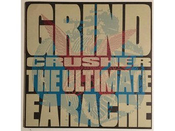 Grindcrusher - The Ultimate Earache / Napalm Death mm / MOSH35/ 2 LP / UK/ 1991