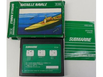 Spelkassett/cartridge, PC-505 - Submarine/Bataille Navale