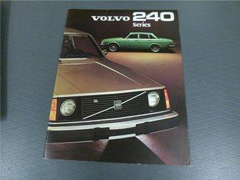 Volvo broschyr: Volvo 240 series - 1975 (USA) - Norrtälje - Volvo broschyr: Volvo 240 series - 1975 (USA) - Norrtälje