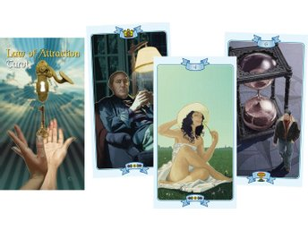 Law of Attraction Tarot (deck only) 9788865270790