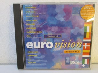 CD Rensning The best of Eurovision 1965-1993