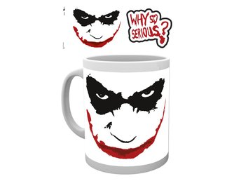 Mugg - DC Comics - Batman (The Dark Knight) - Why So Serious (MG0826)