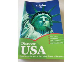USA guide lonely planet Discover upptäck reseguide semester vaccation maps karta