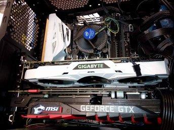 GeForce GTX1080 TI Gaming OC-edition med 11 GB minne - Malmö - GeForce GTX1080 TI Gaming OC-edition med 11 GB minne - Malmö