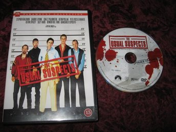 THE USUAL SUSPECTS (KEVIN SPACEY,GABRIEL BYRNE,STEPHEN BALDWIN) DVD