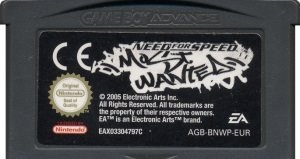 GBA - Need for Speed: Most Wanted (Beg)