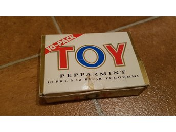 Toy Peppermint tuggummi 10pack - Nostalgi