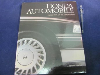 Honda Automobile av J. Lewandowski