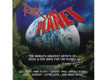 Various - Rock The Planet (2xCD, Comp)