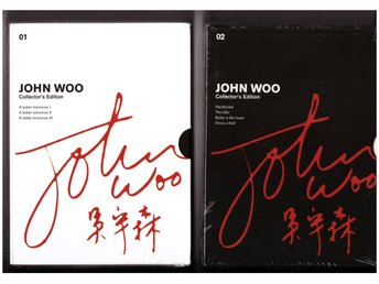 John Woo - Collectors Edition - Vol 1 och 2  - NYA INPLASTADE