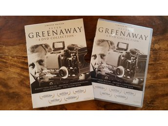 Peter Greenaway / 4 DVD Collection / DVD Box / Limited edition