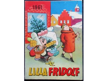 Lilla Fridolf julalbum år 1961, very good