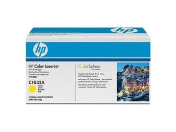 Toner HP CF032A Yellow 12,500 s