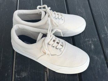 SEBAGO Docksides MAINS´L Canvas Natural Herr Sneaker strl 41,5