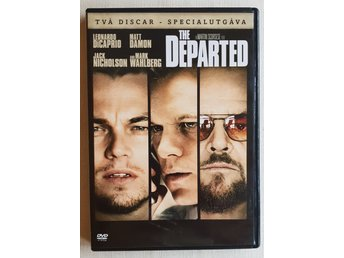 The Departed 2006 DVD