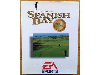 The Links at Spanish Bay: PGA Tour 96 Championship big box utgåva (PC BEG!)