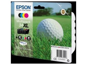 Epson C13T34764010 Multipack 34XL, DURABrite Ultra Ink