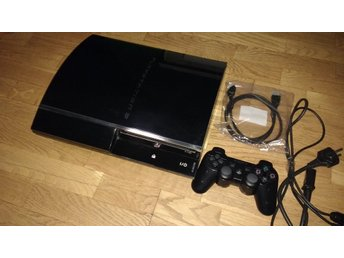 Bakåtkompatibel med PS1 & PS2 PlayStation 3 PS3 60GB