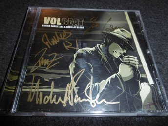 Volbeat - Guitar gangsters &... - CD - 2008 - Signerad