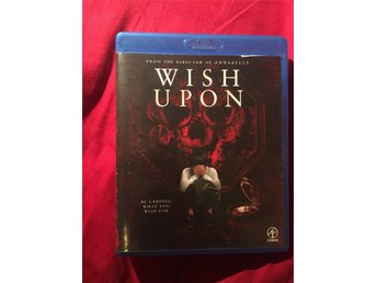 Wish Upon, bluray, Exrental, svensk text finns