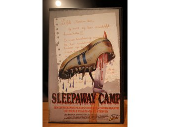 Sleepaway Camp - EX Rental, Dutch, BDM Video, VHS