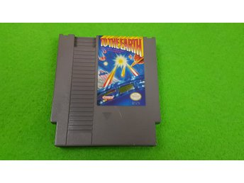 To The Earth Nintendo 8 bit NES