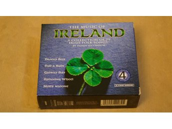 The Music of Ireland a collection of 79 irish (CD-BOX)