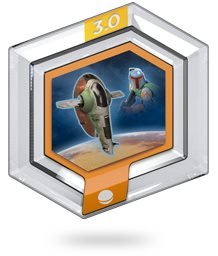 Boba Fett SLAVE I Power Disc Star Wars - Disney Infinity 3.0
