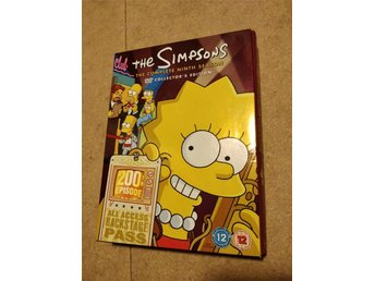Simpsons Säsong 9 DVD Box